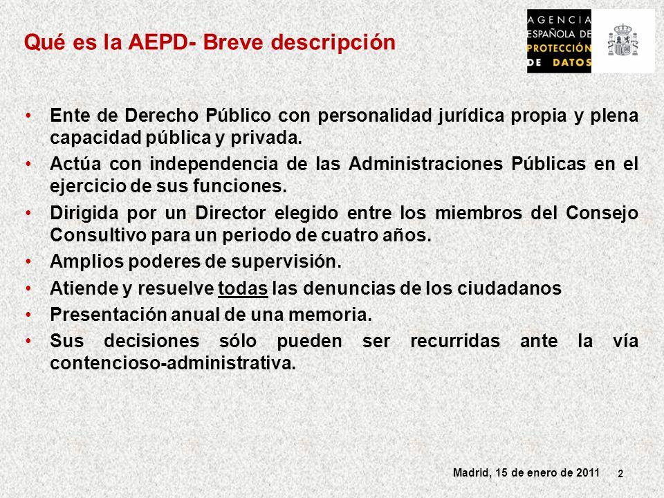Qué es la AEPD- Breve descripción