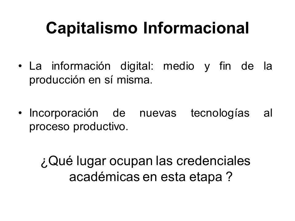 Capitalismo Informacional