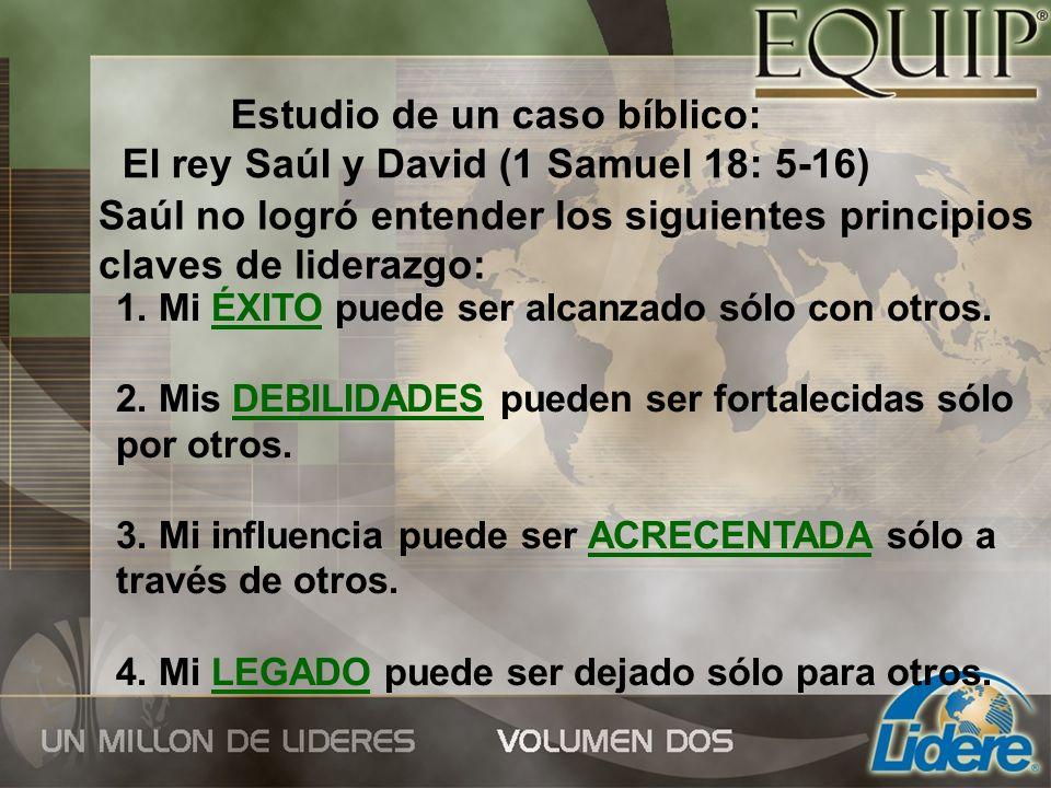 Estudio de un caso bíblico: El rey Saúl y David (1 Samuel 18: 5-16)