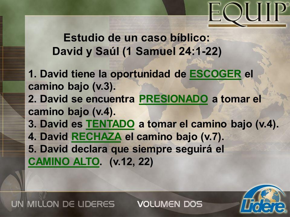 Estudio de un caso bíblico: David y Saúl (1 Samuel 24:1-22)