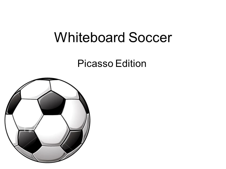 Whiteboard Soccer Picasso Edition
