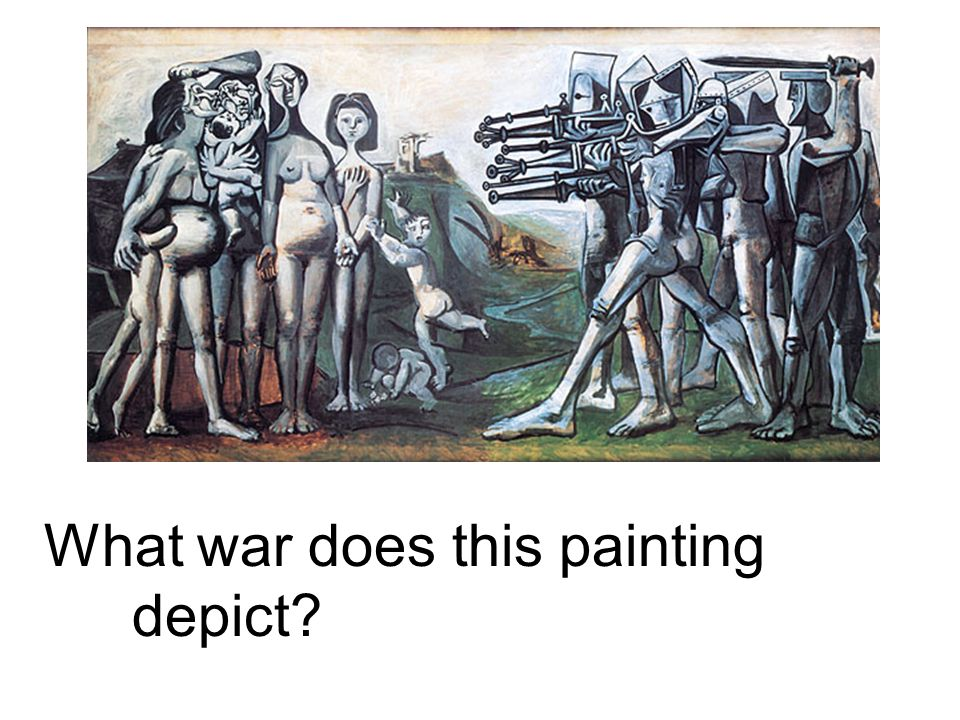 What war does this painting depict