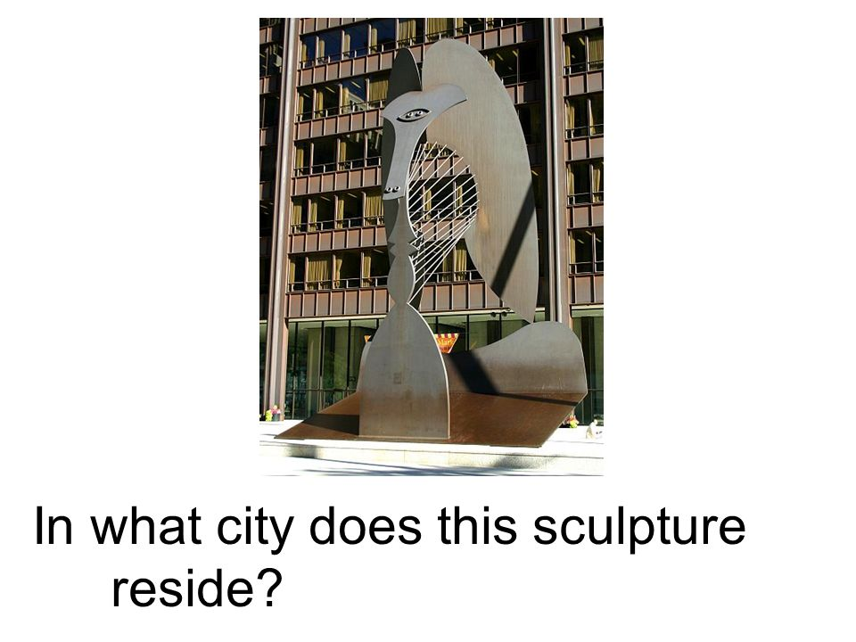 In what city does this sculpture reside