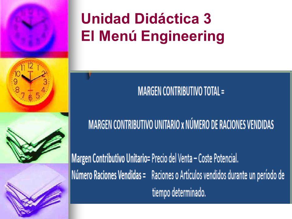 Unidad Didáctica 3 El Menú Engineering
