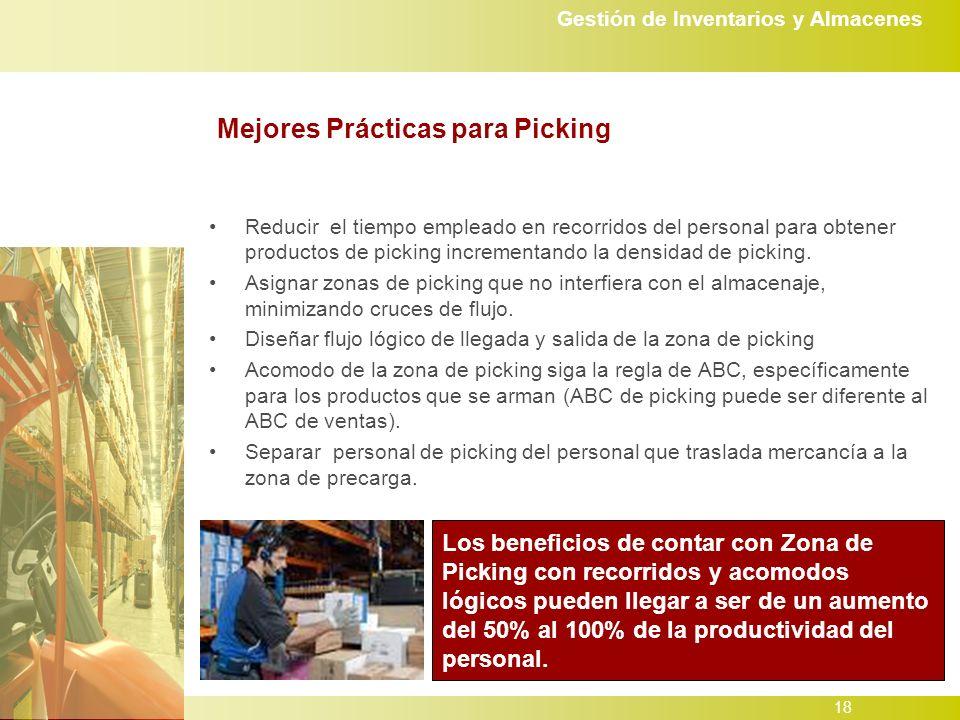 Mejores Prácticas para Picking