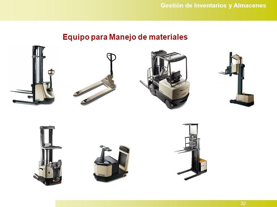Equipo para Manejo de materiales