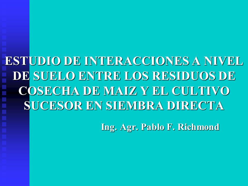 Ing. Agr. Pablo F. Richmond