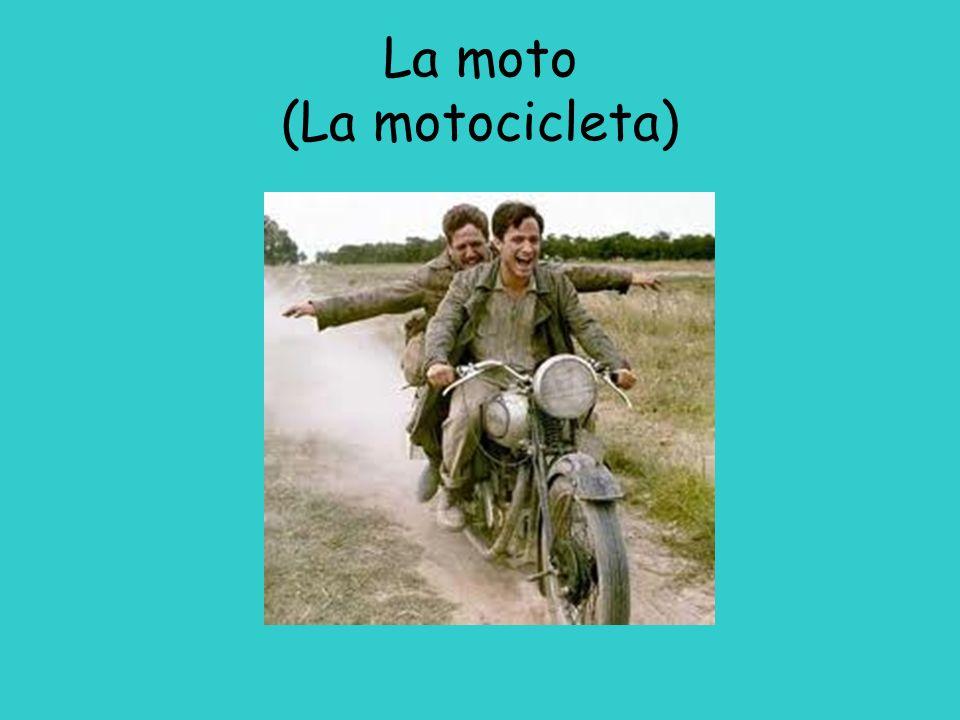 La moto (La motocicleta)