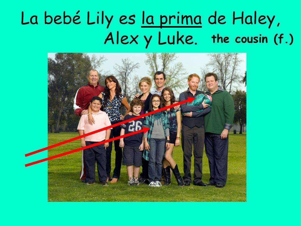 La bebé Lily es la prima de Haley, Alex y Luke.