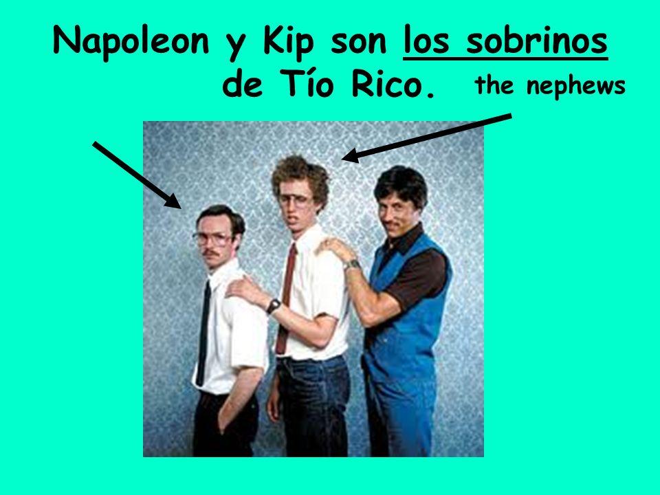 Napoleon y Kip son los sobrinos de Tío Rico.
