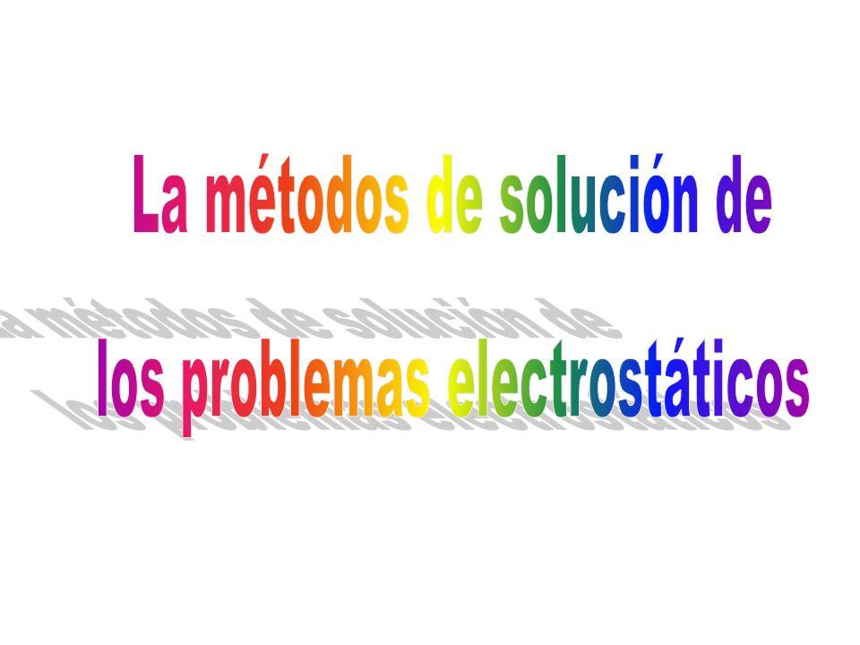 La métodos de solución de los problemas electrostáticos