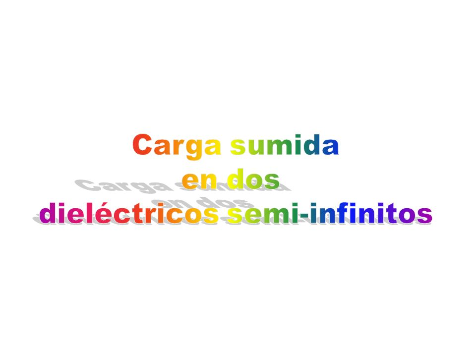 dieléctricos semi-infinitos