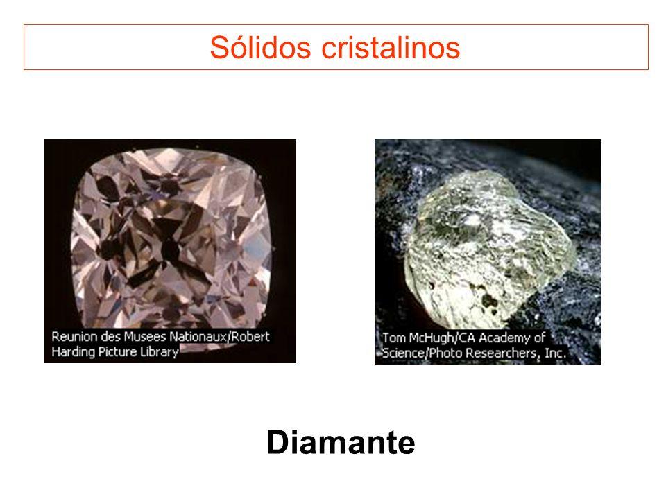 Sólidos cristalinos Diamante