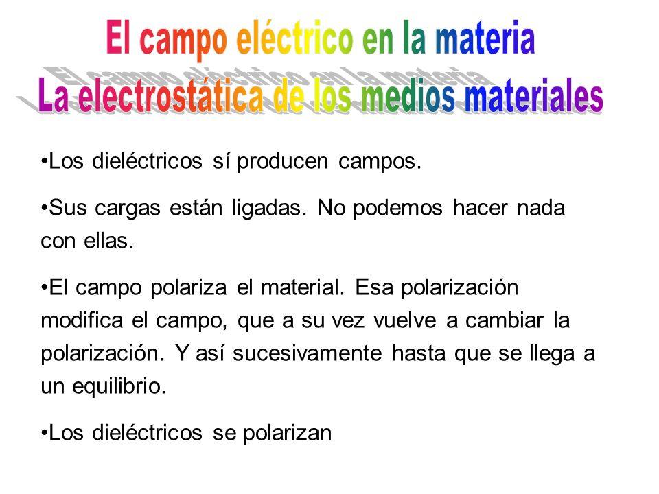 El campo eléctrico en la materia