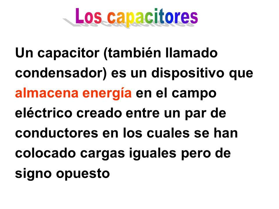 Los capacitores