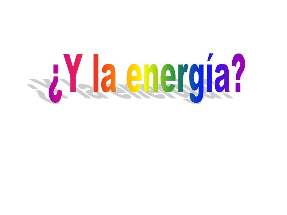 ¿Y la energía