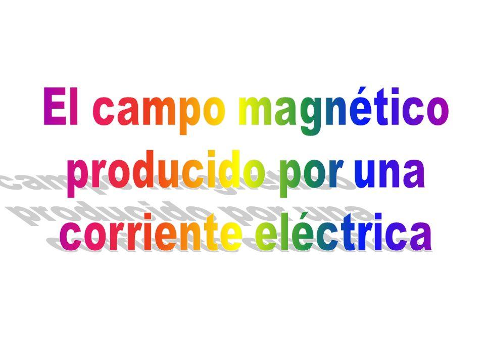 El campo magnético producido por una corriente eléctrica