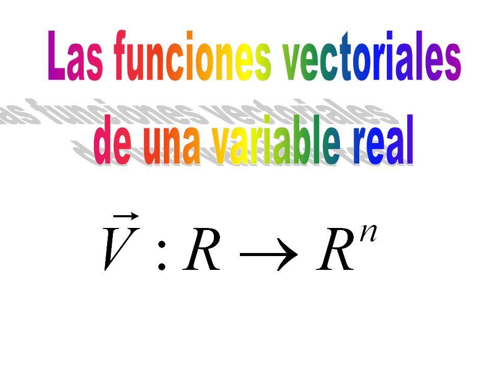 Las funciones vectoriales