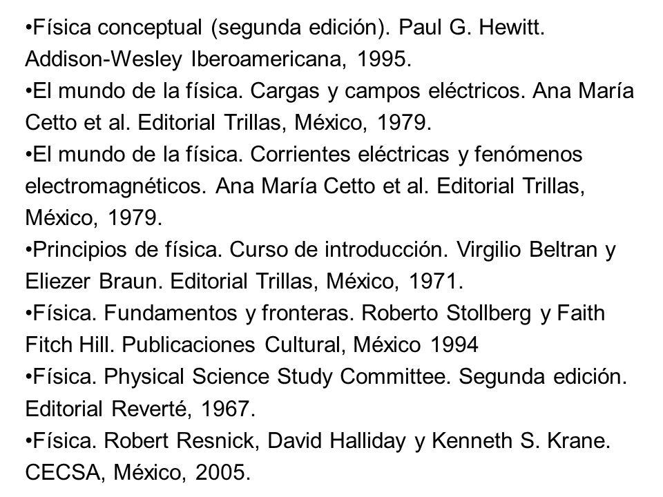 Física conceptual (segunda edición). Paul G. Hewitt