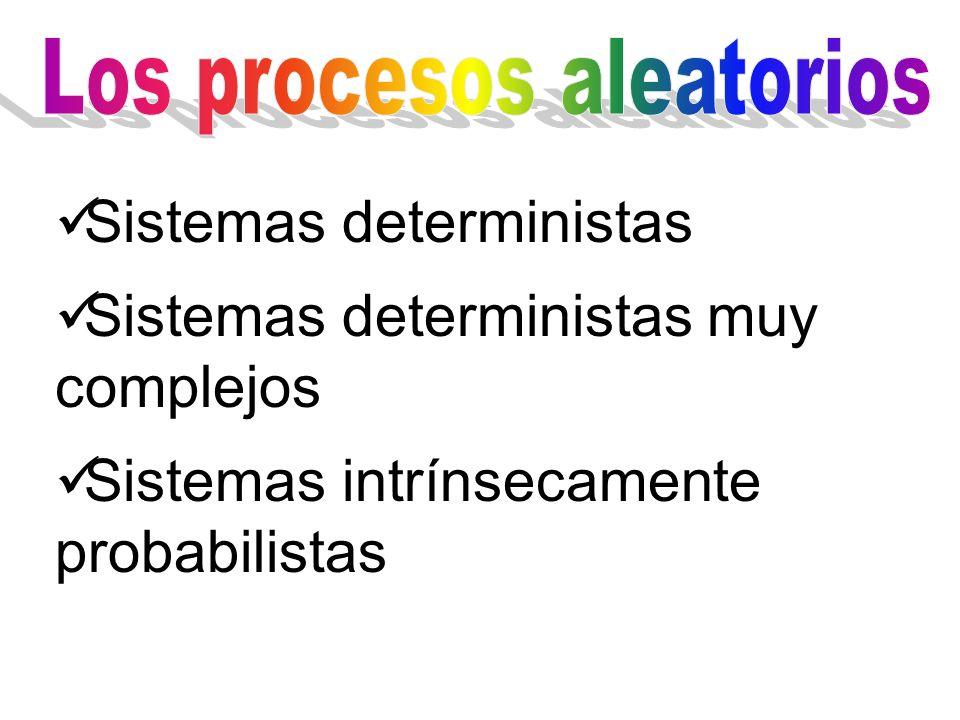 Los procesos aleatorios