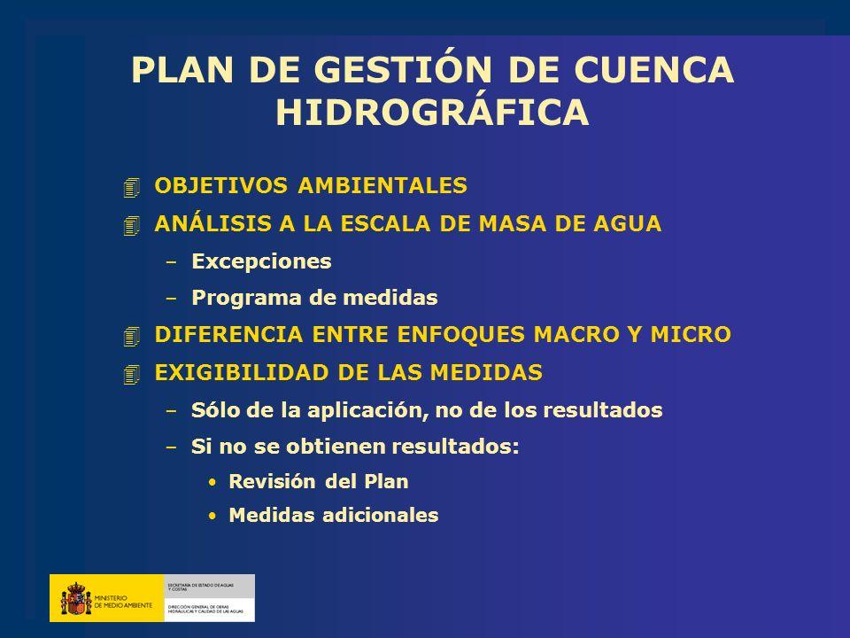 PLAN DE GESTIÓN DE CUENCA HIDROGRÁFICA