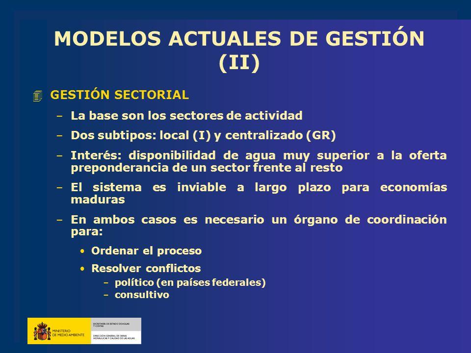 MODELOS ACTUALES DE GESTIÓN (II)