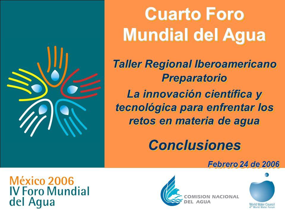 Cuarto Foro Mundial del Agua