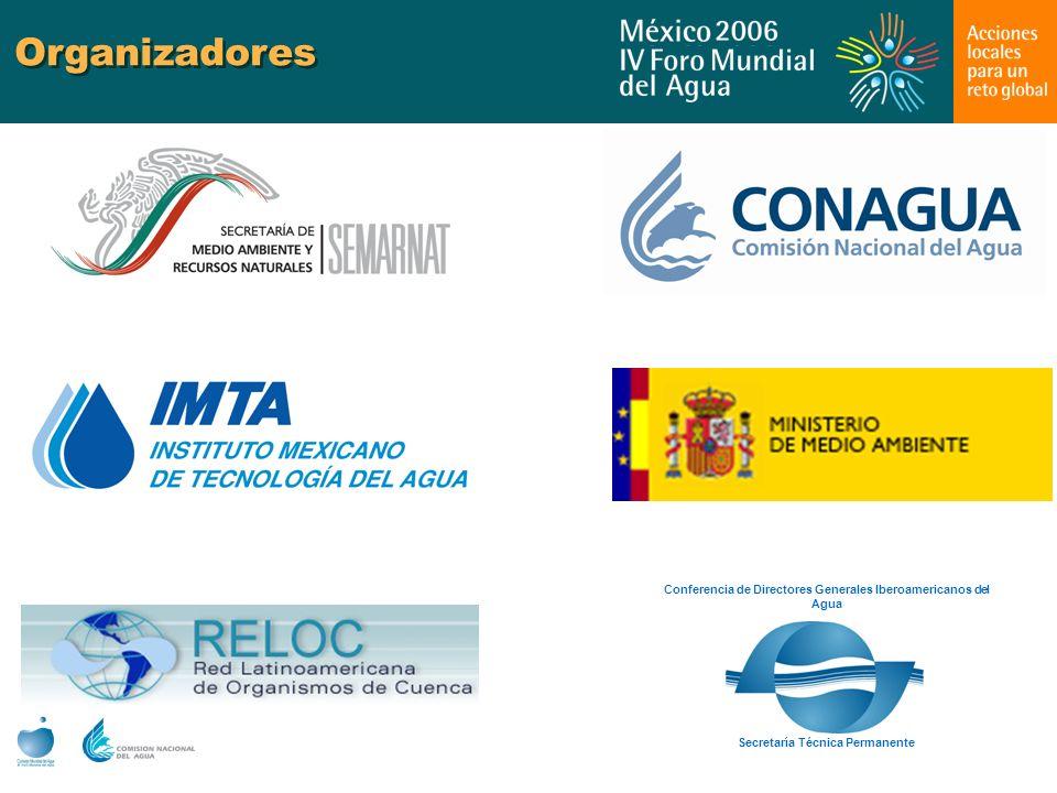 Organizadores Secretaría Técnica Permanente.