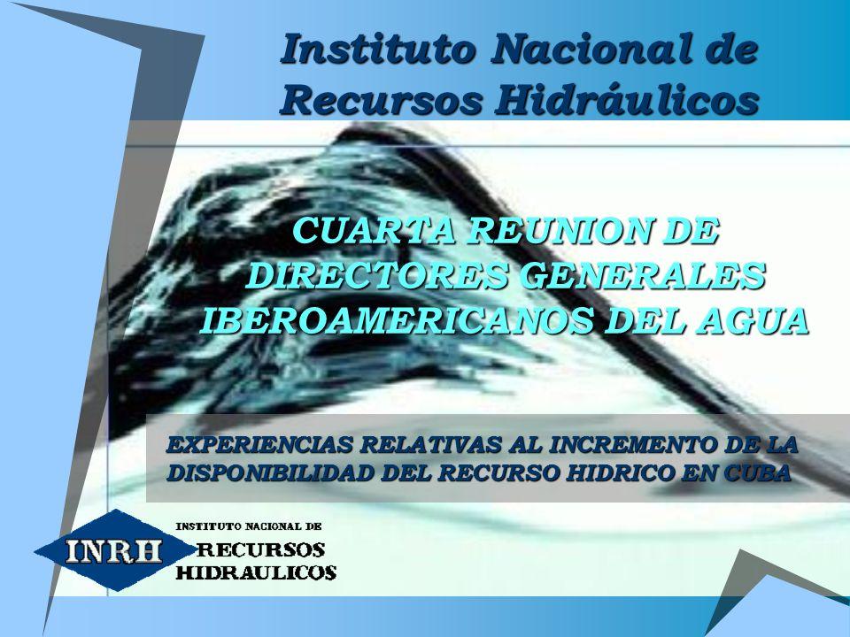 CUARTA REUNION DE DIRECTORES GENERALES IBEROAMERICANOS DEL AGUA