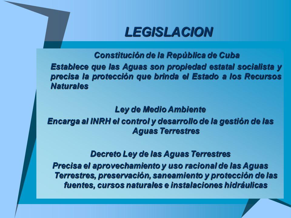 LEGISLACION Constitución de la República de Cuba