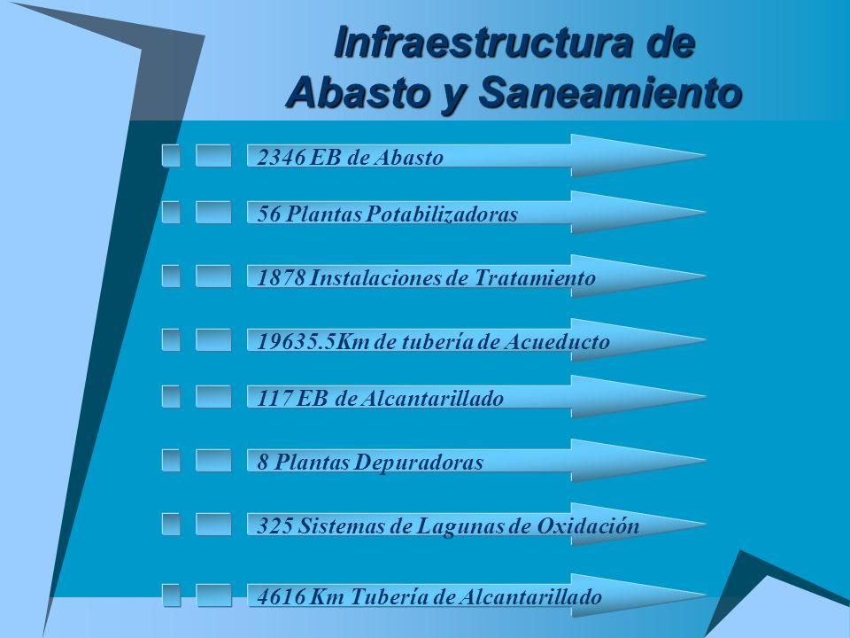 Infraestructura de Abasto y Saneamiento