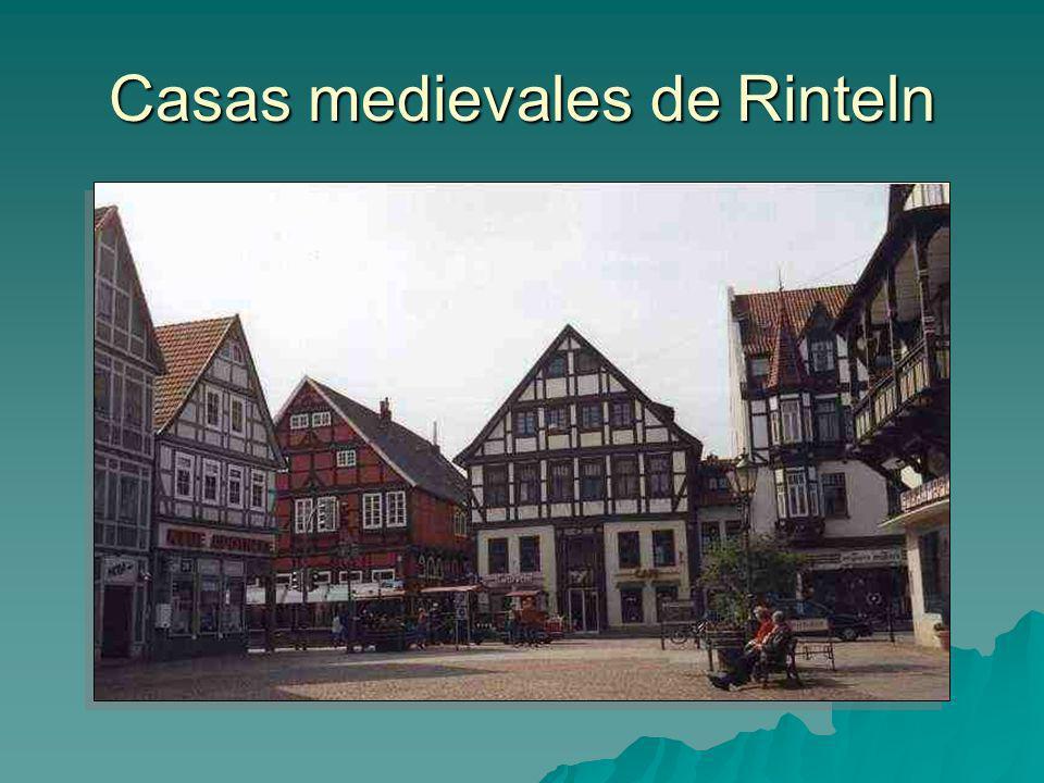 Casas medievales de Rinteln
