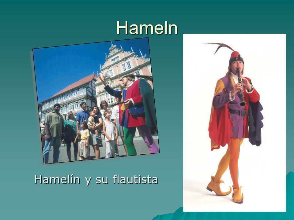Hameln Hamelín y su flautista