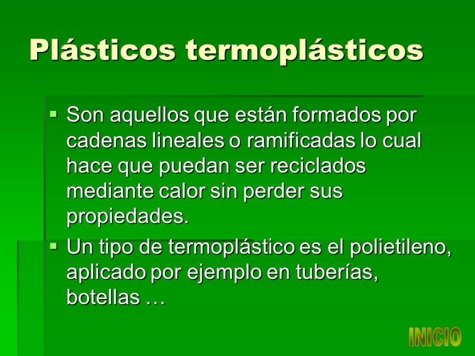 Plásticos termoplásticos