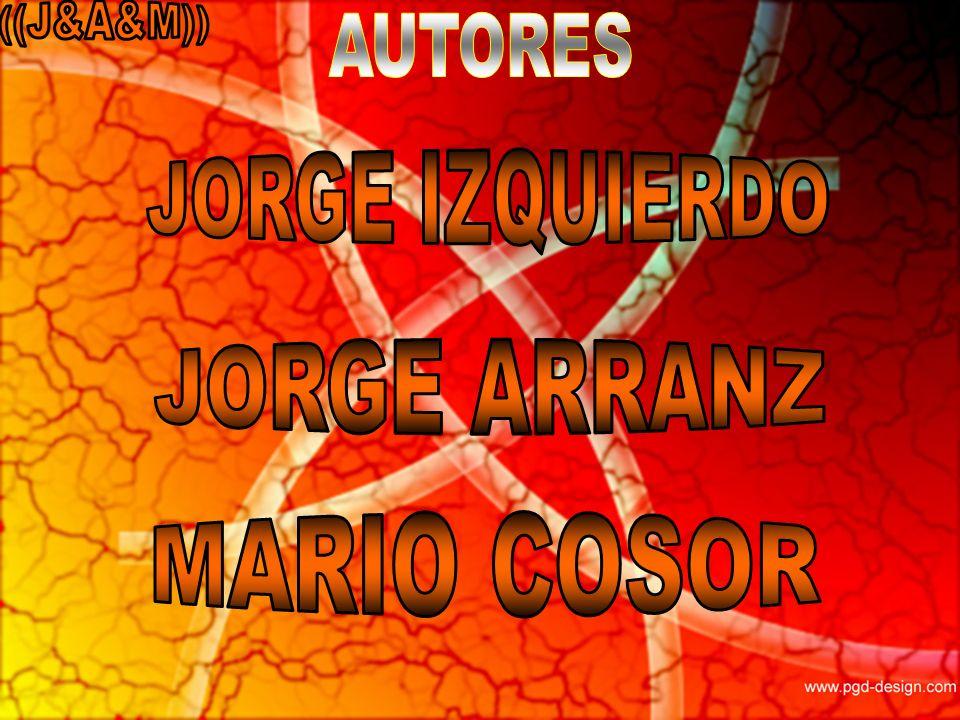 ((J&A&M)) AUTORES JORGE IZQUIERDO JORGE ARRANZ MARIO COSOR
