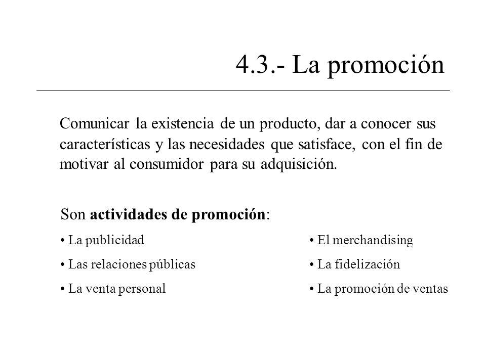 4.3.- La promoción