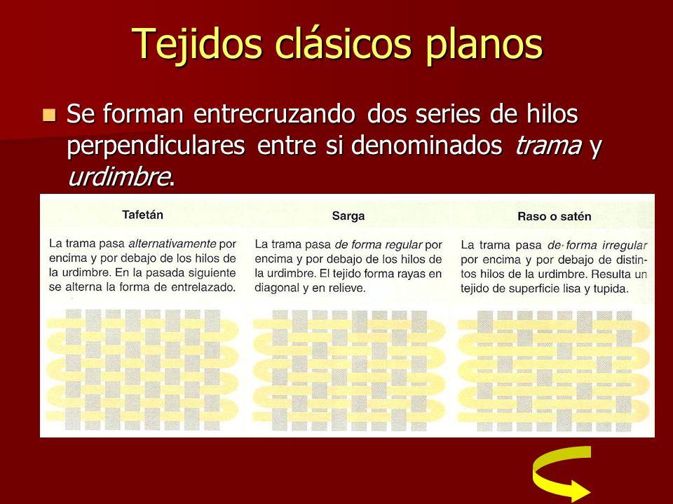 Tejidos clásicos planos