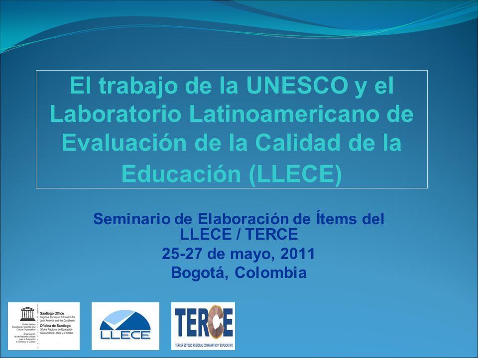 Seminario de Elaboración de Ítems del LLECE / TERCE
