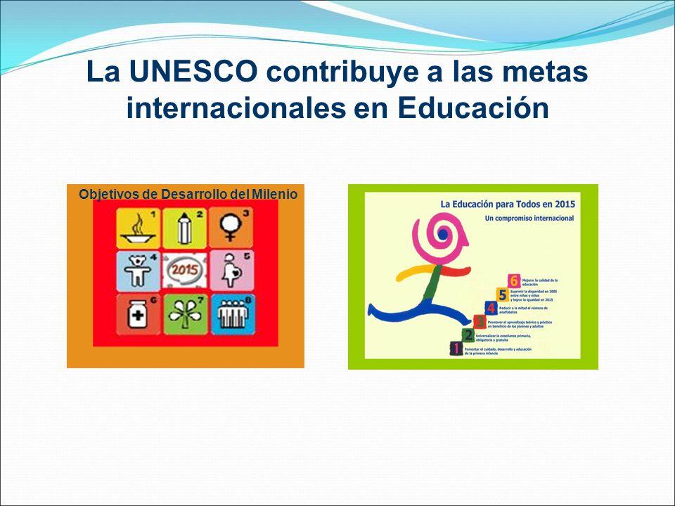 La UNESCO contribuye a las metas internacionales en Educación