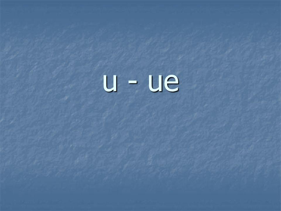 u - ue