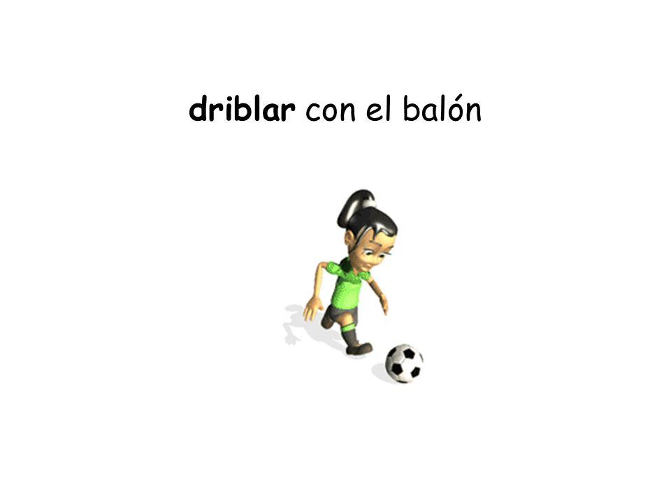 driblar con el balón