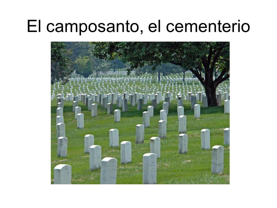El camposanto, el cementerio