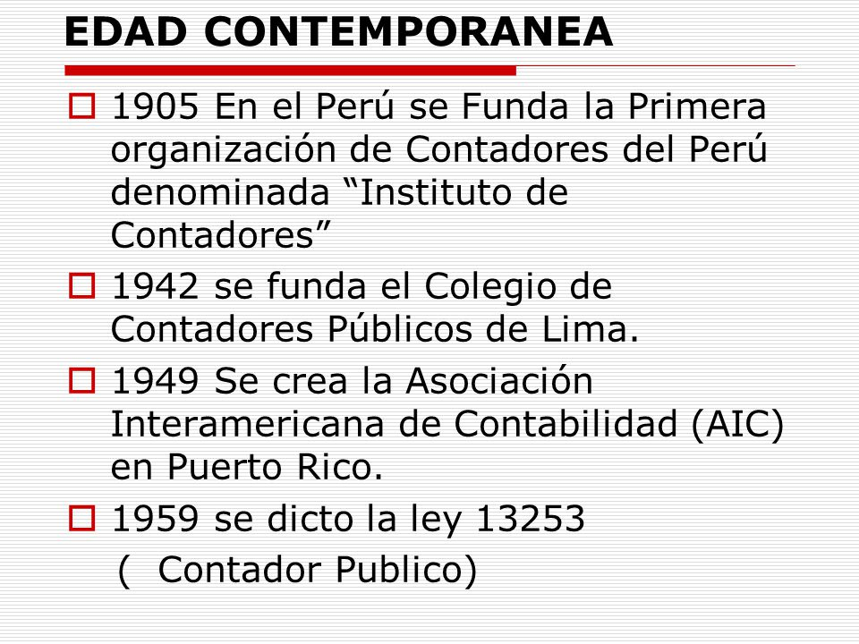 Contabilidad financiera ppt descargar for Definicion de contemporanea