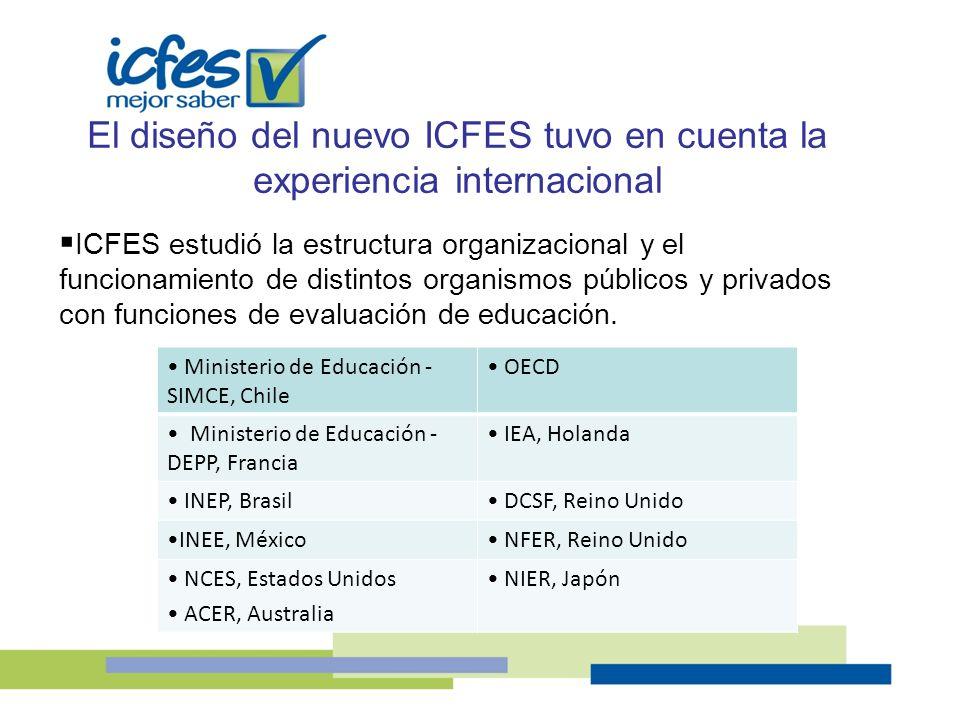 El diseño del nuevo ICFES tuvo en cuenta la experiencia internacional