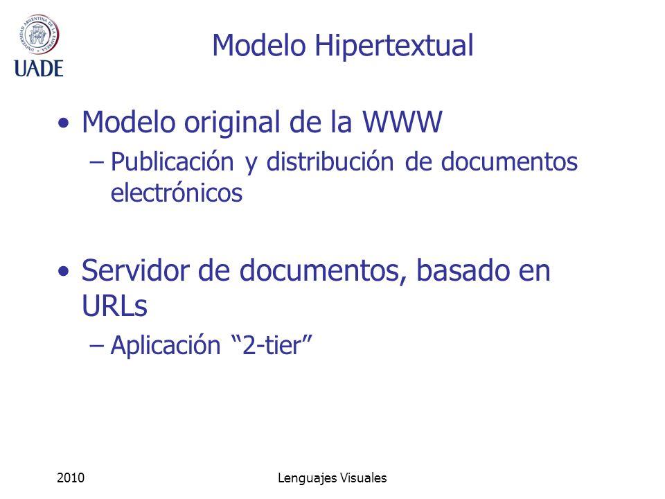 Modelo original de la WWW