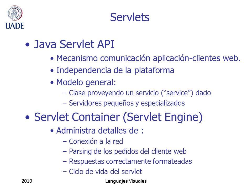 Servlet Container (Servlet Engine)