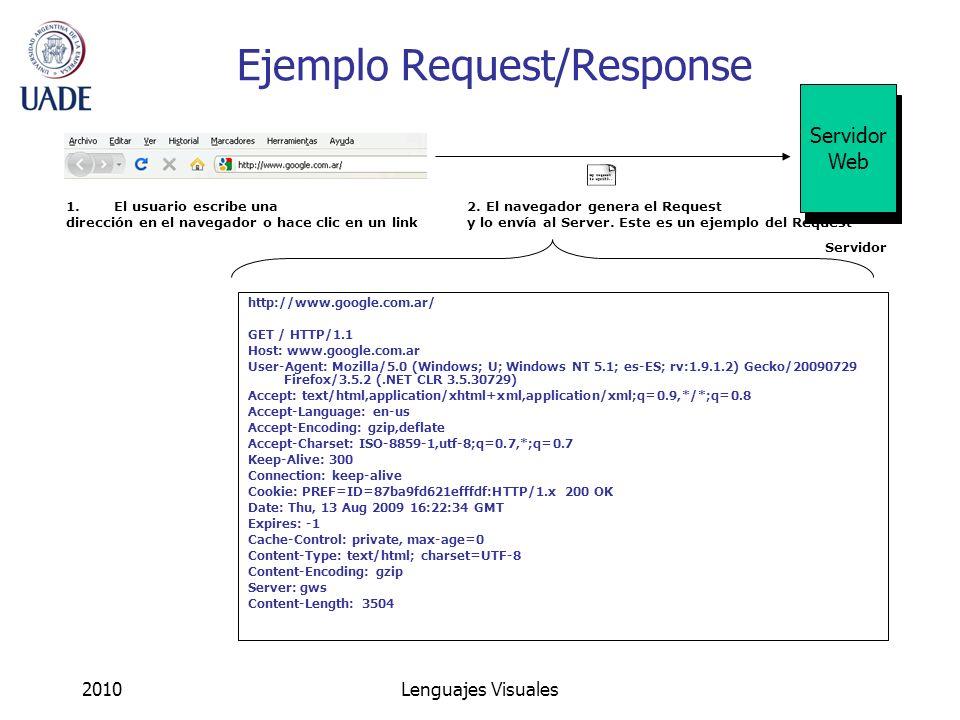 Ejemplo Request/Response