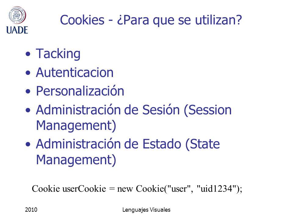 Cookies - ¿Para que se utilizan