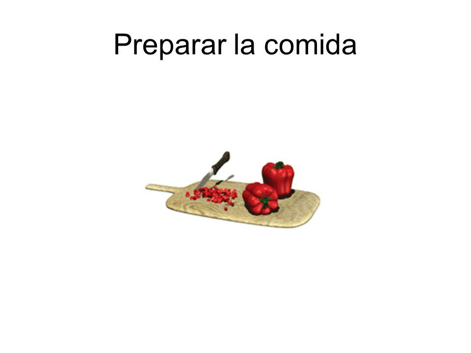 Preparar la comida