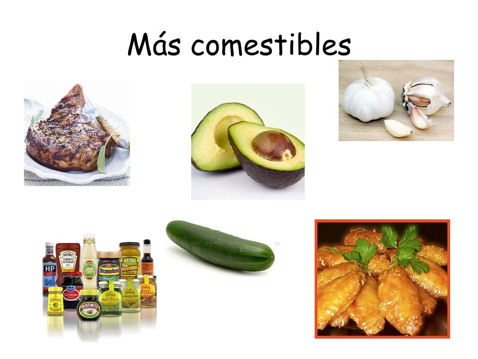 Más comestibles
